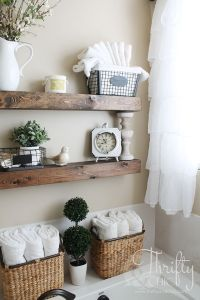 25+ best ideas about Floating Shelves Bathroom on ...