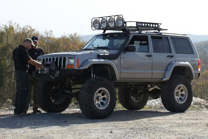 Blackout Lifted Cherokee Sport Country Pictures To Pin On