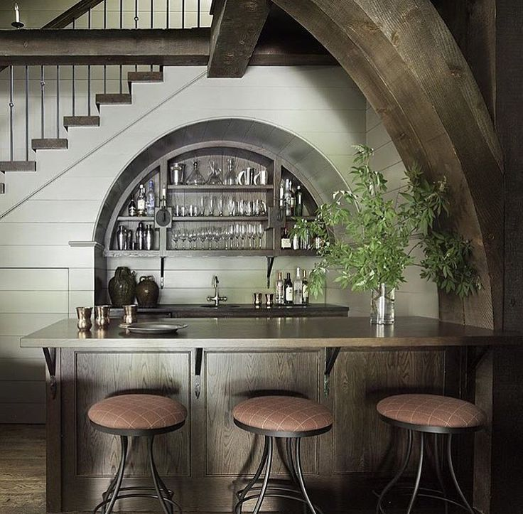 The 25 Best Ideas About Bar Under Stairs On Pinterest