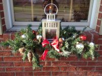 Outdoor Christmas Decorations Window Box - Mobil You