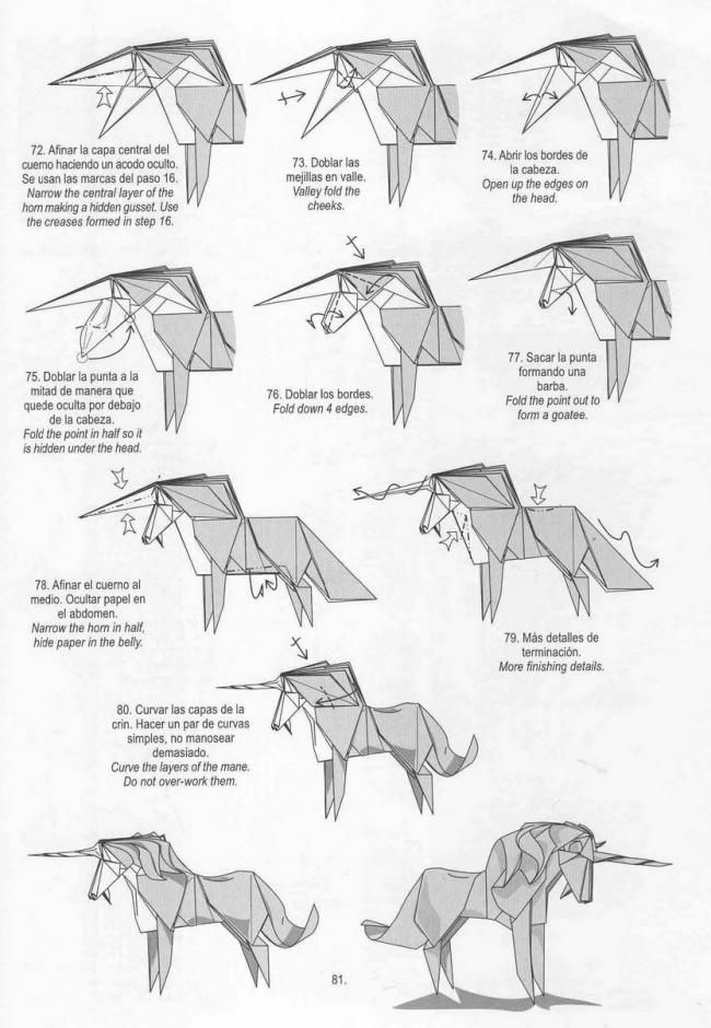 origami rose diagrams