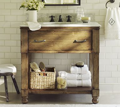 Pottery Barn Sink Love This I Am Thinking Of Ways To