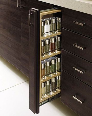 Cabinet Spice Rack Pull Out Woodworking Projects Plans