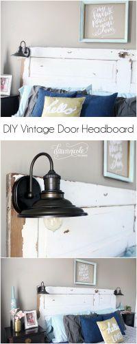 25+ Best Ideas about Headboard Lights on Pinterest ...