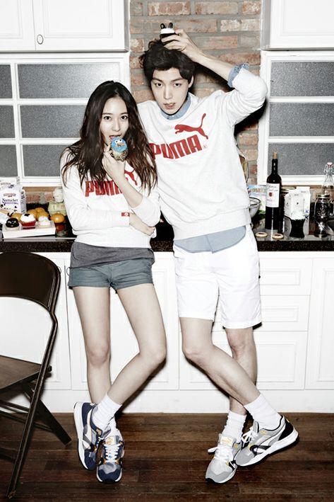 Cute Jimin Desktop Wallpaper Krystal Ahn Jae Hyun Puma Casual Pinterest Couple