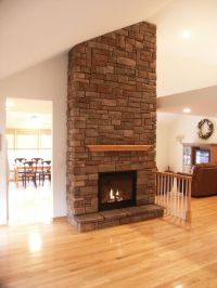 Interior Design A New Gas Beautiful Fireplaces Stone ...
