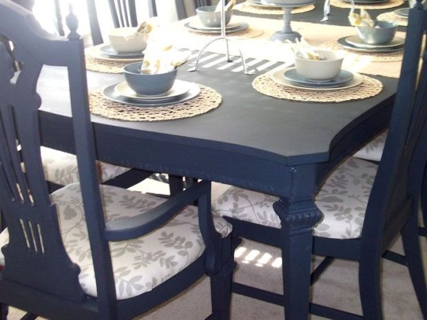 ideas paint painted dining room table