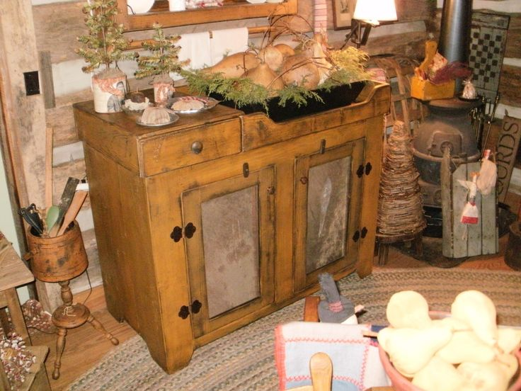 Ol39 Primitive Dry Sinkmade From Reclaimed Pine Using