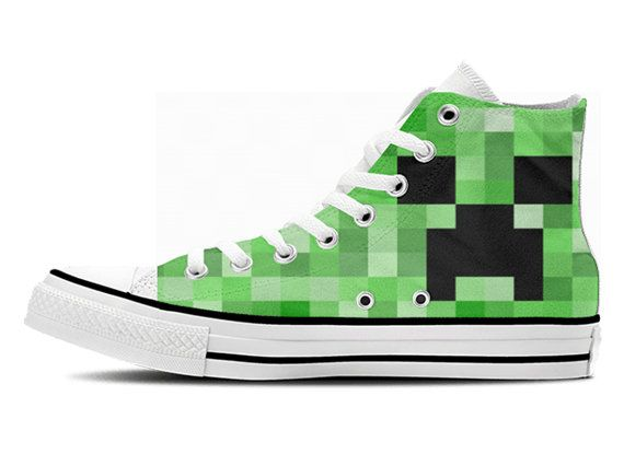Minecraft Custom Unoffical HiTop Shoes by CustomHiTops on