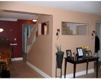 Benjamin Moore Classic Burgundy...dining room accent wall ...