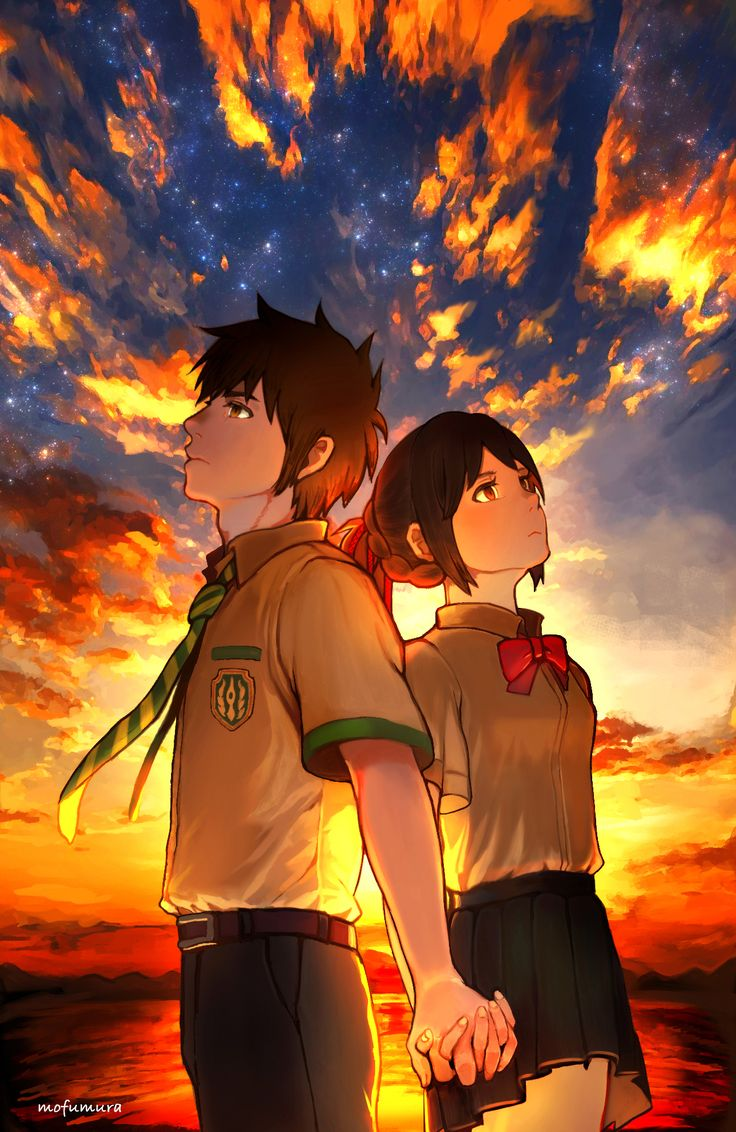 Create Name Animation Wallpaper 10 Images About 「君の名は。」 Your Name 「 Kimi No Na Wa 」 On