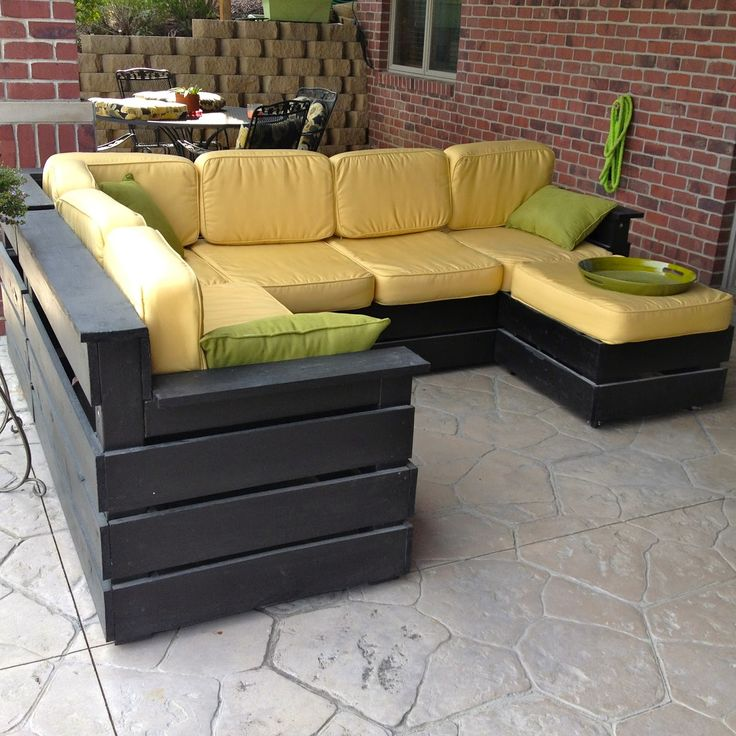 Patio Sectional Plans 25+ Best Ideas About Outdoor Sectional On Pinterest