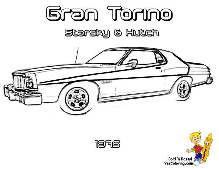 brawny muscle car coloring pages on pinterest auto electrical