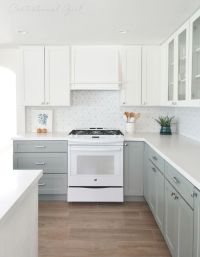 17 Best ideas about Blue Gray Kitchens on Pinterest   Pale ...