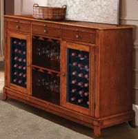 Refrigerated Wine Cabinet Furniture - WoodWorking Projects ...