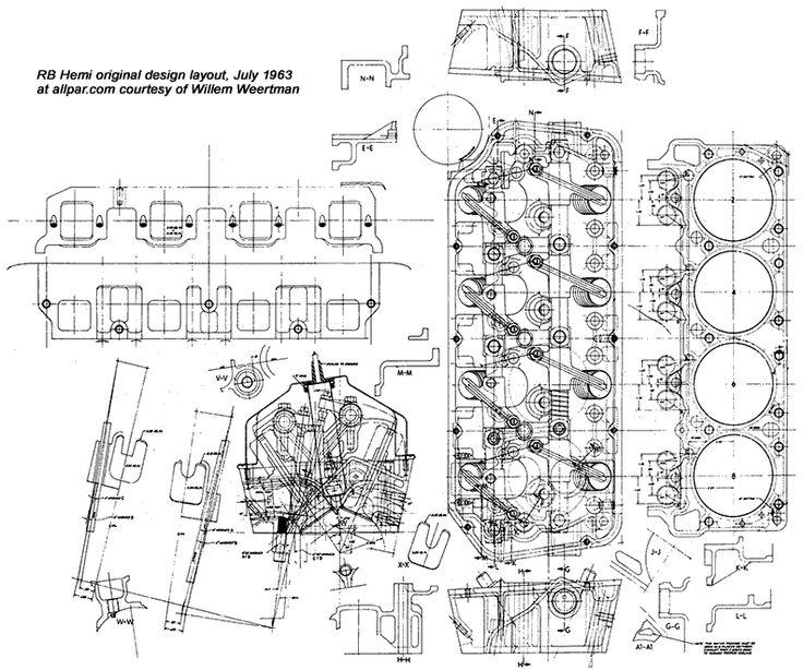 426 hemi engine diagram