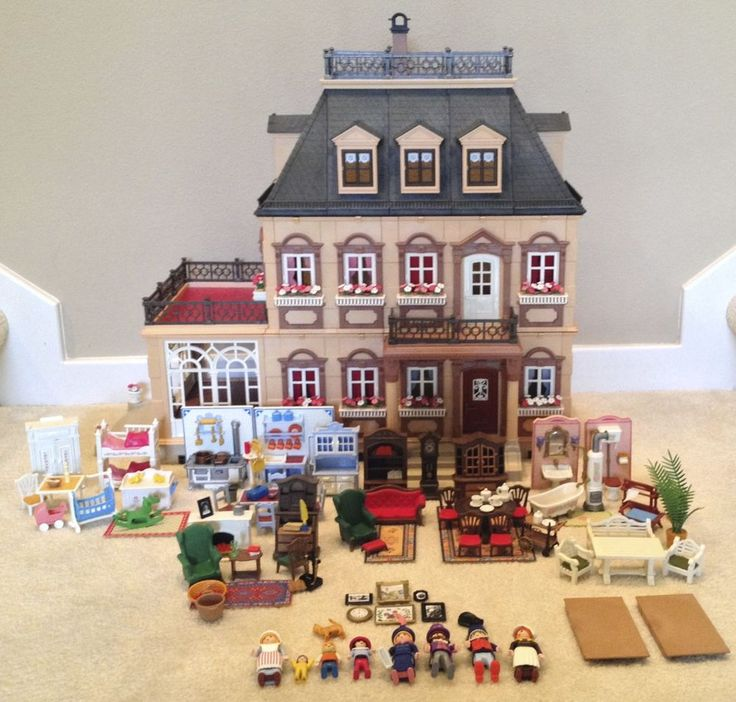Playmobil Dollhouse Küche Playmobil 5300~victorian Mansion Dollhouse~loaded With