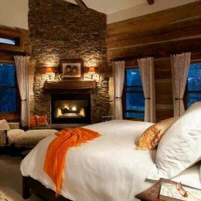 17 best ideas about Bedroom Fireplace on Pinterest