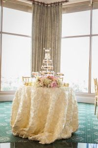 Cake table, Wedding cake tables and Tablecloths on Pinterest