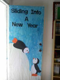Sliding into a new year. | Room Mom | Pinterest | Bulletin ...