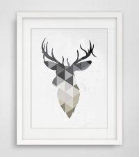 1000+ ideas about Geometric Deer on Pinterest | Deer ...