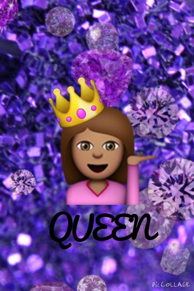 Cute Emoji Wallpapers Monkeys Emoji Queen Background Backgrounds Pinterest Queen