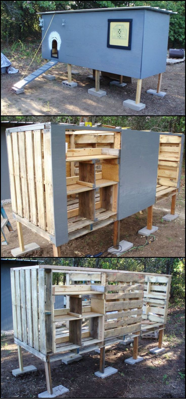 Hühnerstall Kreativ Building A Chicken Coop From Pallets - Woodworking