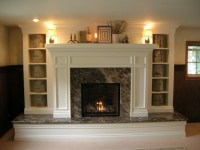 another raised hearth fireplace makeover | Fashion ...