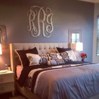 25+ best ideas about Monogram above bed on Pinterest ...