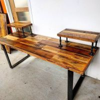 1000+ ideas about Reclaimed Wood Desk on Pinterest | Desk ...