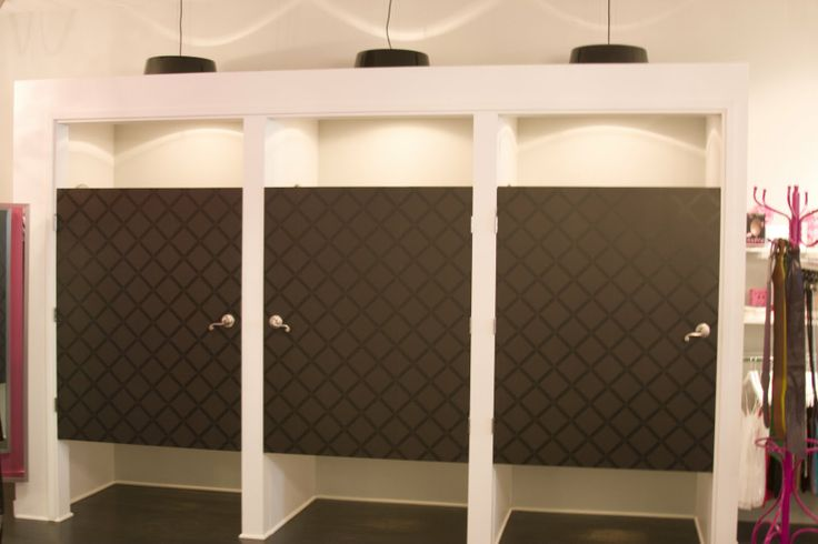 Retail Fitting Room Doors