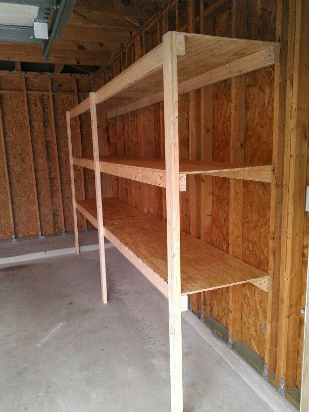 Garage Storage Diy Projects Pinterest Garage Shelf