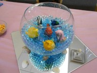 Easy centerpieces for Finding Nemo Baby Shower | Finding ...