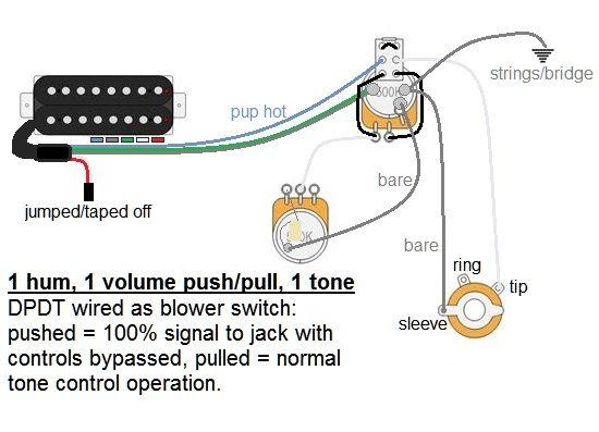 wiring a humbucker direct