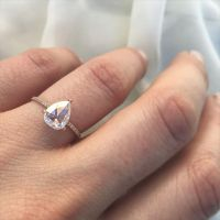 25+ best ideas about Pear ring set on Pinterest | Pear ...