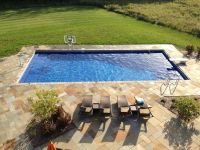 Best 25+ Rectangle pool ideas only on Pinterest   Backyard ...