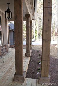 25+ best ideas about Wood columns on Pinterest