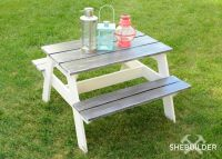 17 Best ideas about Picnic Tables on Pinterest | Diy ...