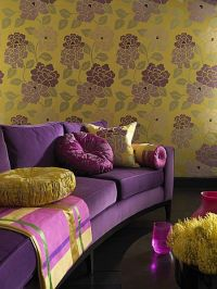 1000+ images about Purple and Yellow room on Pinterest ...