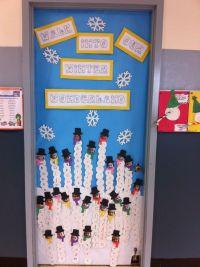 Classroom Door for January | classroom decorating ...