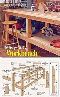 25+ best ideas about Diy Workbench on Pinterest | Garage ...