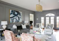 Get the Look: Grown-up, Glam Living Room | Rue | Living ...