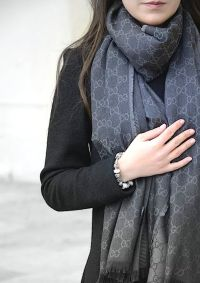 Gucci scarf, Pandora   STYLE   Pinterest   Shawl, Warm and ...