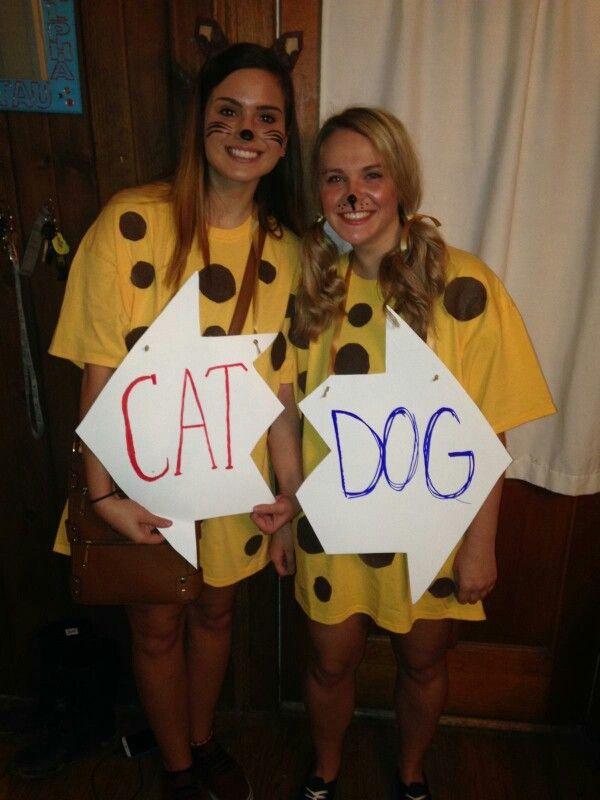 Catdog DIY costume