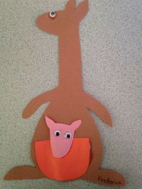 17 Best images about Kangaroo Crafts on Pinterest | Crafts ...