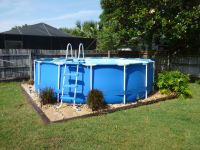 Best 20+ Above ground pool landscaping ideas on Pinterest