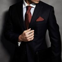 Best 25+ Black Suit Red Tie ideas on Pinterest | Black and ...