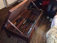 Hidden Gun Cabinet Coffee Table Plans - WoodWorking ...