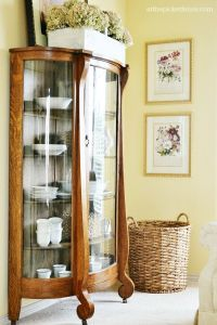 Best 25+ China cabinet decor ideas on Pinterest