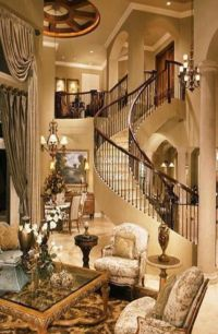 Luxury home Interiors ~Grand Mansions, Castles, Dream ...